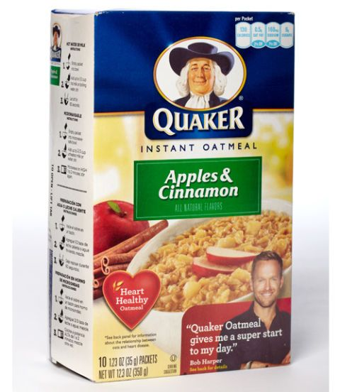 box of oatmeal