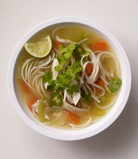 Asian chicken soup