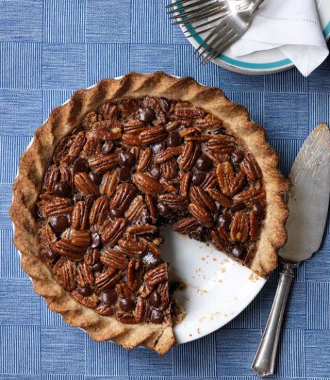 Double-Pecan-Chocolate-Pie-Recipe