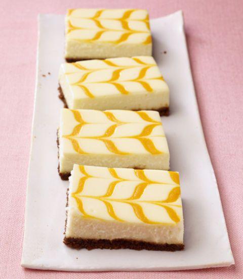 Apricot Cheesecake & Gingersnap Bars