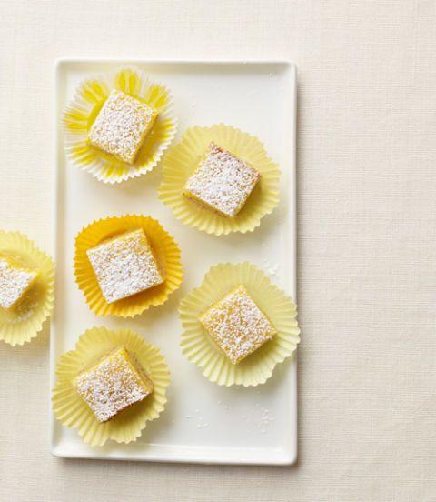 Aunt Olga's Lemon–Poppy Seed Bars