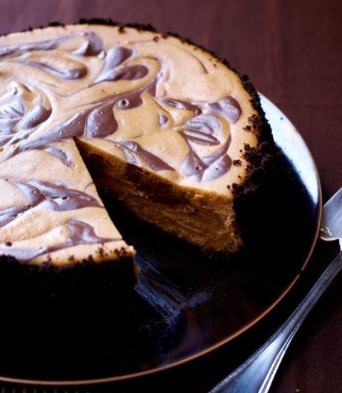 Swirled-Pumpkin-Chocolate-Cheesecake-Recipe
