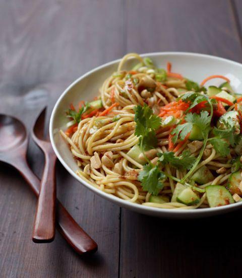 Cold Sesame Noodle Salad Recipe