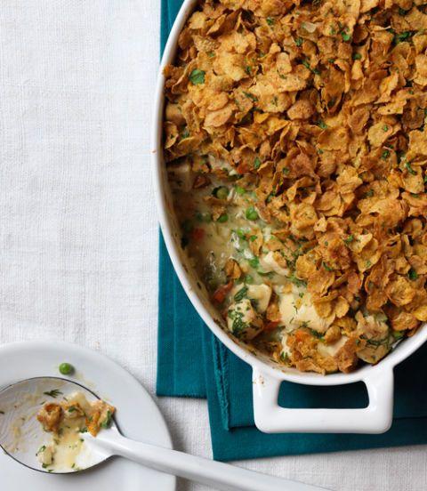 Buttermilk Chicken & Cornflake Bake