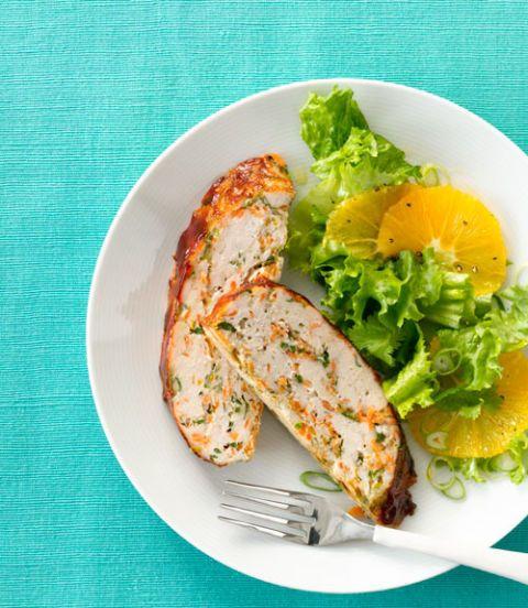 Orange-Ginger Turkey Meat Loaf