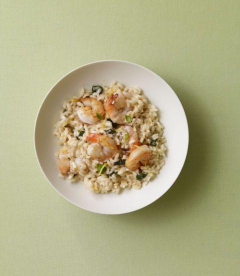 Shrimp, Lemon & Basil Risotto