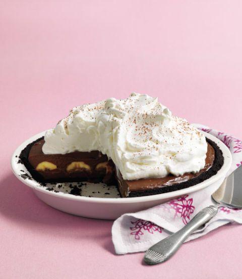 Double-Chocolate Banana Cream Pie