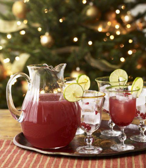pomegranate apple cocktails