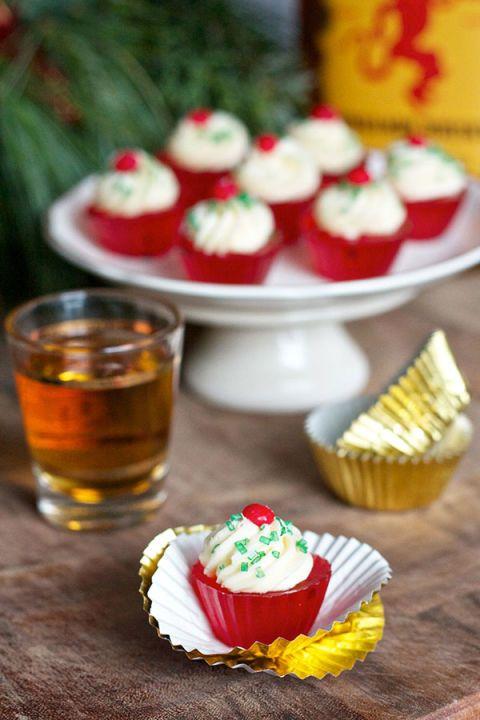 14 Festive Jelly Shots To Make Your Holidays Extra Happy Festive Jello Ideas