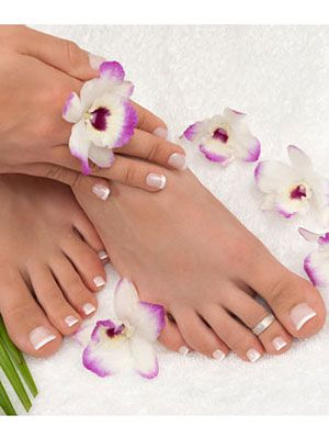 How to do a pedicure home pedicure supplies at womansday manicures and pedicures solutioingenieria Choice Image