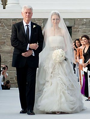 Extravagant Celebrity Weddings - Chelsea Clinton Wedding at ...