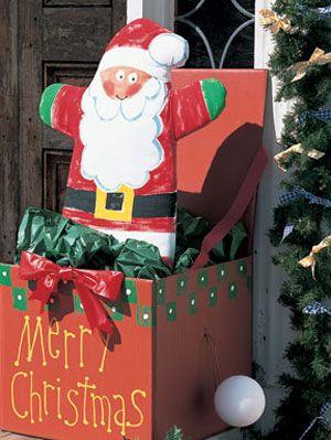 Santa Box Project Diy Christmas Craft Ideas On Womansday Com