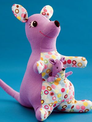 Learn How To Sew A Kangaroo Doll Craft Project Find Fun Craft