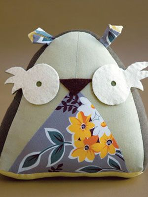 Owl Sewing Craft Project