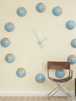 Make Your Own Clock at WomansDay com - How to Make a Wall Clock