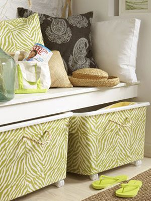 Make Your Own Decorative Storage Bins at WomansDaycom