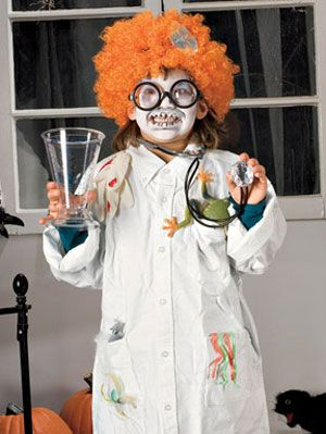 Easy Halloween Costumes For Kids At Womansday Com Mad Scientist