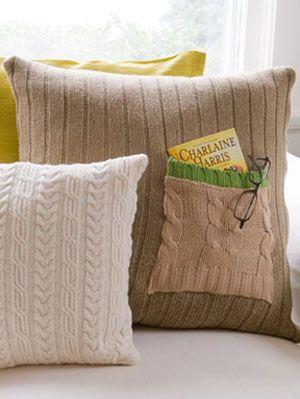 free throw pillow patterns at womansday - diy decor Diy Sofa Pillows