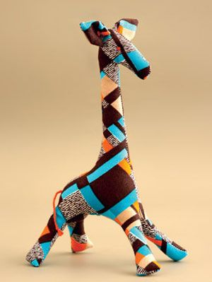 Learn How To Sew A Giraffe Doll At Womansday Com Free Craft Ideas