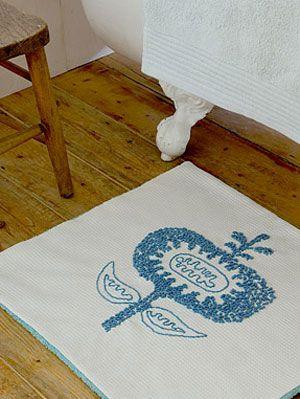 Diy Bath Mat Free Craft Patterns At Womansday Com