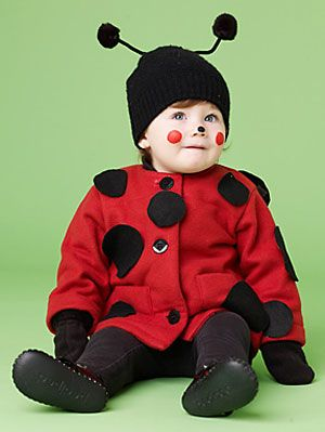 a74829617 Easy Halloween Costumes - Ladybug Costume Idea at WomansDay.com