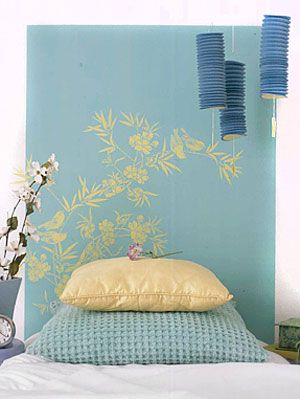 Home decorating diy headboard projects at womansday headboard projects solutioingenieria Image collections