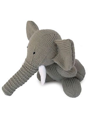 Free Elephant Knitting Pattern How To Knit A Toy Elephant