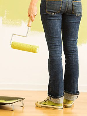 How To Paint A Wall Interior Painting Tips At Womansday Com