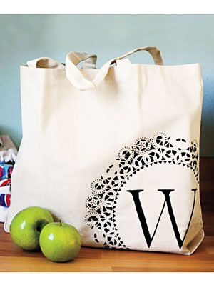 craft ideas how to make your own personalized tote bag at