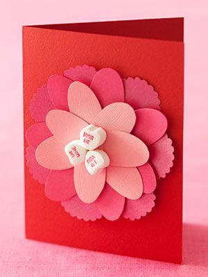 Cut paper flower card flower card mightylinksfo