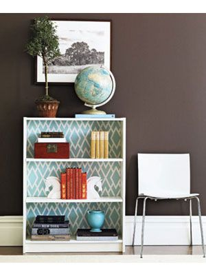 Craft How To Make A Fabric Covered Bookcase At WomansDay
