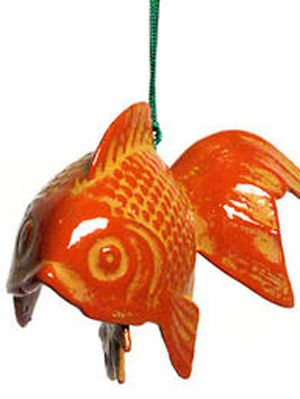 koi wind chime