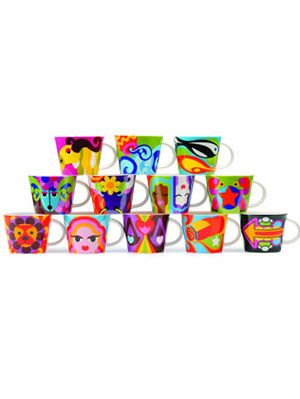 French Bull's Zodiac mug collection
