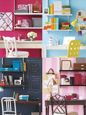 Home Office Design Ideas - Chic Ideas for Home Offices