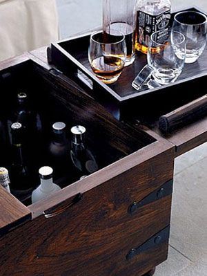Crate & Barrel Taka Trunk