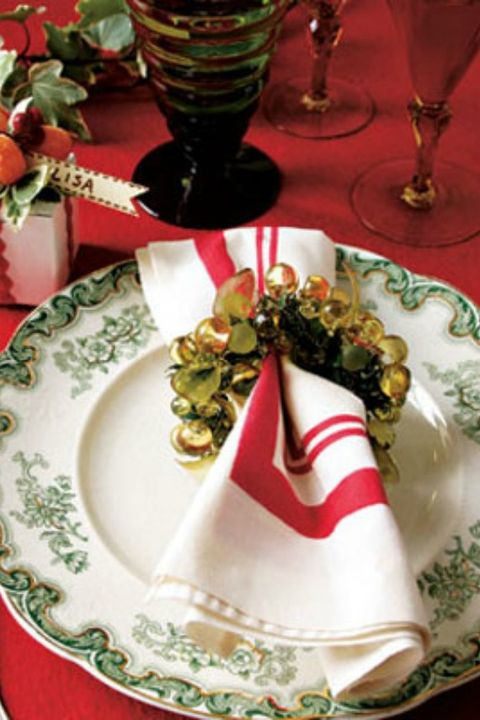 Christmas Decorating Ideas Festive Napkin Ring
