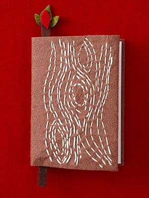 Faux-Bois Stitch Journal