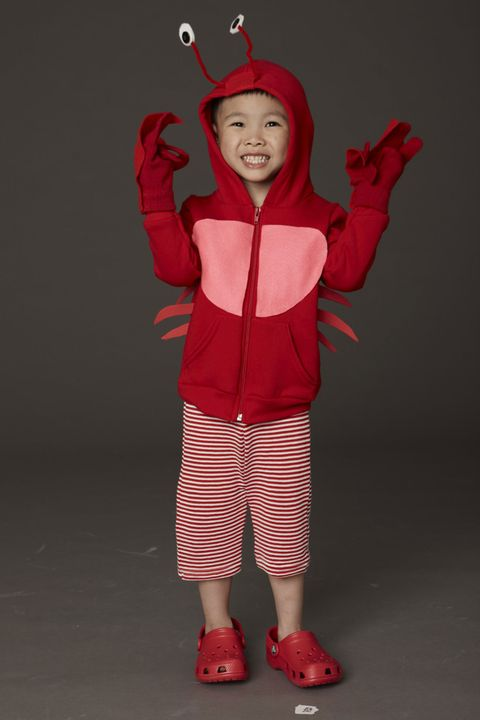 crab homemade halloween costume for kids