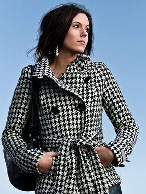 woman outdoors in coat