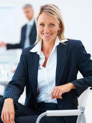 women in business dress