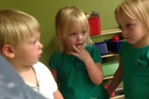 Toddlers Talking About Weather