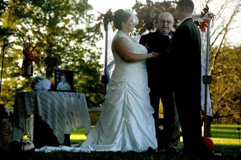 Cemetery Wedding