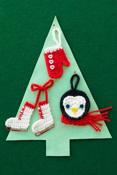 Crochet Ornaments Patterns For Crocheting Christmas Ornaments