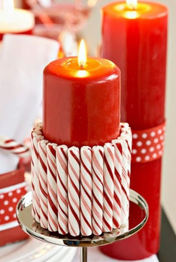 40 Candy Cane Crafts DIY Decorations With Candy Canes Beauteous Candy Cane Themed Decorations
