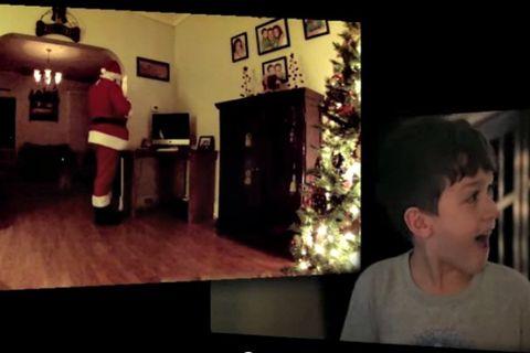 Santa Claus on Camera