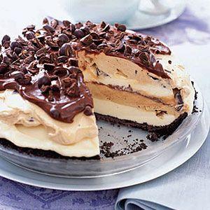 Dessert Recipes Java Jolt Ice Cream Pie Recipe At Womansday Com