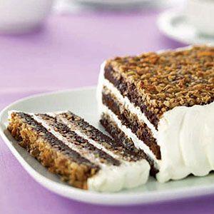 German-Brownie-Torte