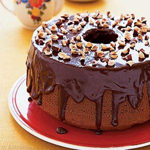 Mocha Hazelnut Chiffon Cake Recipe