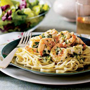 Scampi-with-Pasta