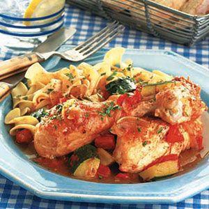 Chicken-Braised-with-Zucchini-Tomatoes
